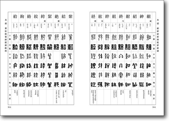 篆刻辞書 新常用印章字林